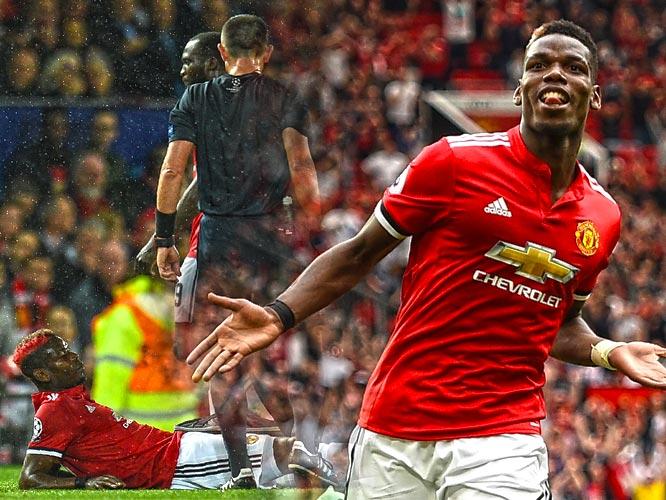 """ผีแดง Manchester United ประวัตินักเตะ """"ปีศาจคืนถิ่นพร้อมค่าตัวสถิติโลก"""""""