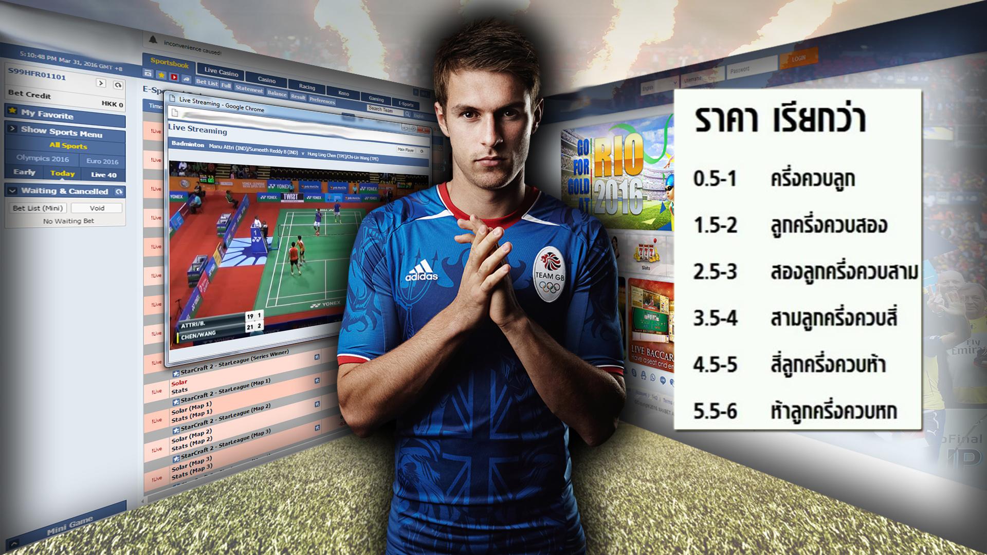 ราคาฟุตบอล มาตราฐานกลางที่เซียนบอลมือใหม่ควรรู้ก่อนแทง